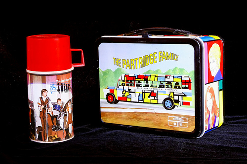 partridge family lunchbox two